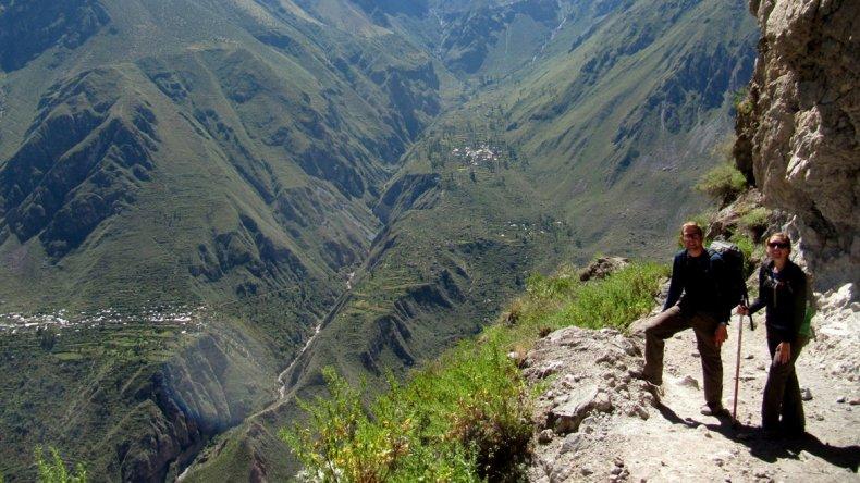 El Cañón del Colca es considerado por reconocidos expertos como el más profundo del mundo