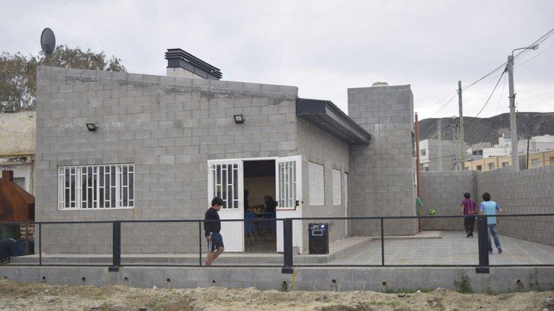 El quincho inaugurado a finales de 2015.