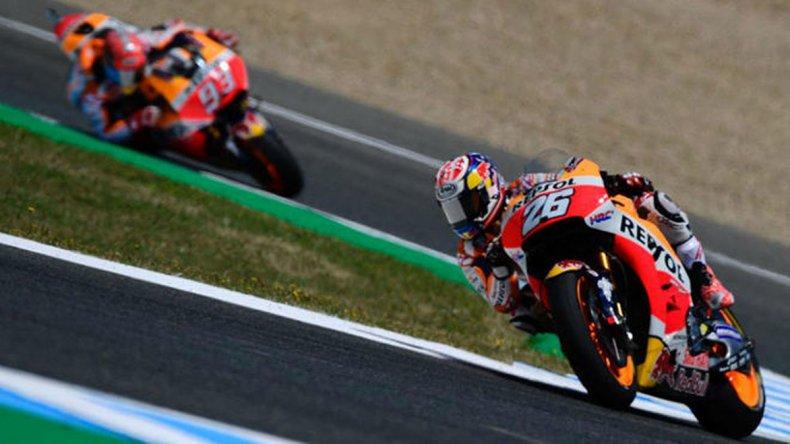 Dani Pedrosa se hizo fuerte en su casa para quedarse con el Gran Premio de España.