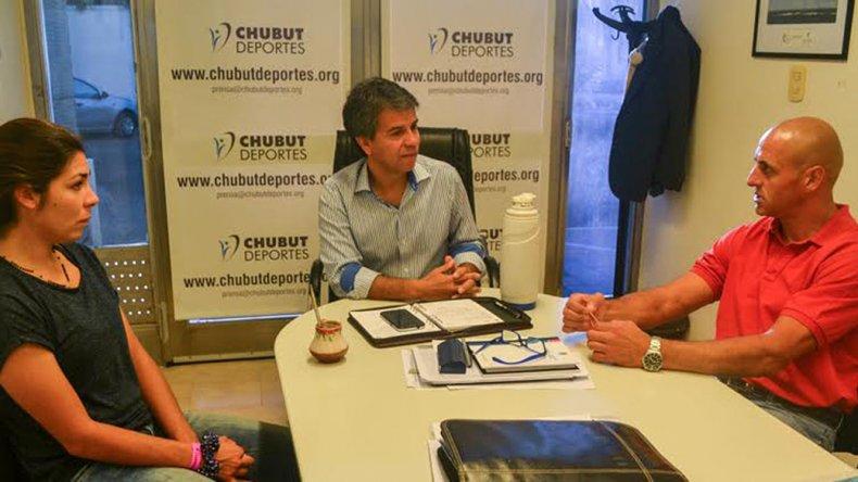 Fiorella Malaspina agradece a Chubut Deportes
