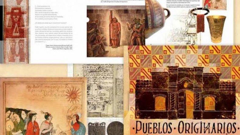 Educación distribuye el libro Pueblos Originarios e Independencia
