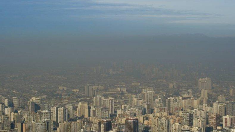 Declararon el estado de alerta ambiental en Santiago