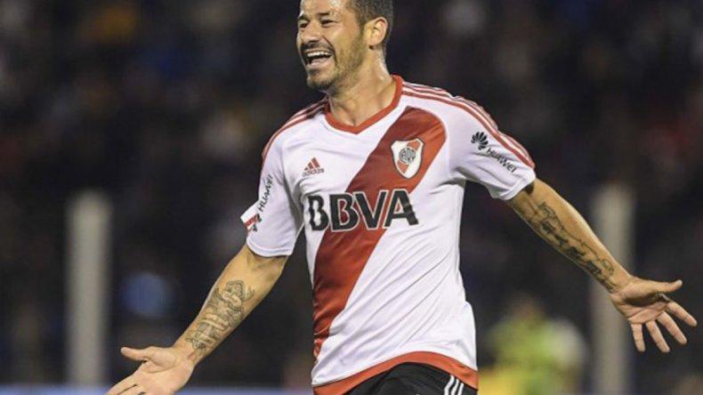 El uruguayo Rodrigo Mora volverá esta tarde a ser titular en la formación de River.