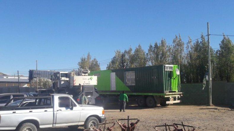 Camioneros en retención de servicios por demoras en el pago salarial