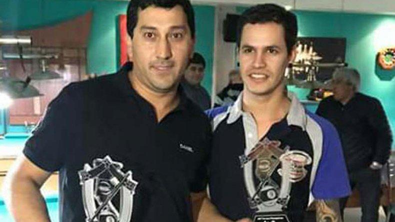 Daniel Torres y Leandro Muñoz se consagraron en Río Gallegos y esperan medirse en el Nacional de Pool en Buenos Aires.