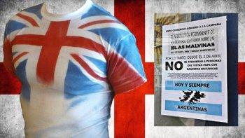 Comercio no atiende a clientes que usen ropa con bandera británica