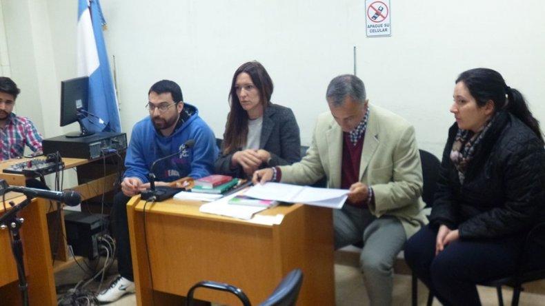 Se ratificó la prisión preventiva para Kesen y Solís