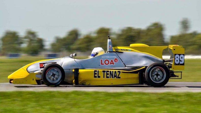 Blotta busca dar el salto en la Fórmula 4 NG.