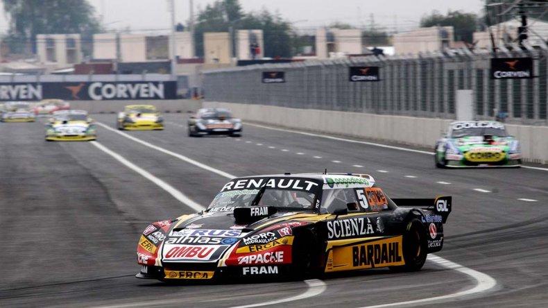 El santafesino Facundo Ardusso fue el más rápido ayer en la primera clasificación del TC en Villa Mercedes