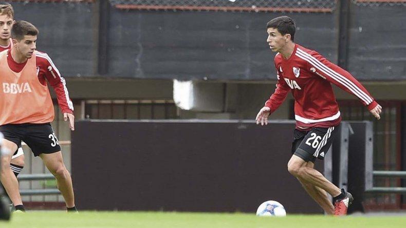 Ignacio Fernández se recuperó y estará a disposición de Marcelo Gallardo cuando River visite mañana a Boca.