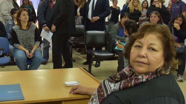 Irene Quintero fue puesta ayer en funciones por el interventor de la Caja de Servicios Sociales