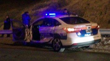 policias resultaron heridos tras un accidente en ruta 3