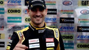 Facundo Ardusso que ayer volvió a dominar en la clasificación del TC.