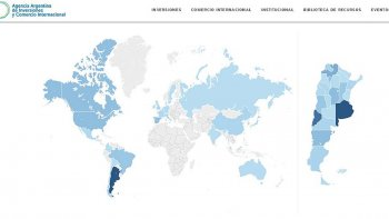 El Mapa de Inversiones muestra proyectos empresarios de todo el país.