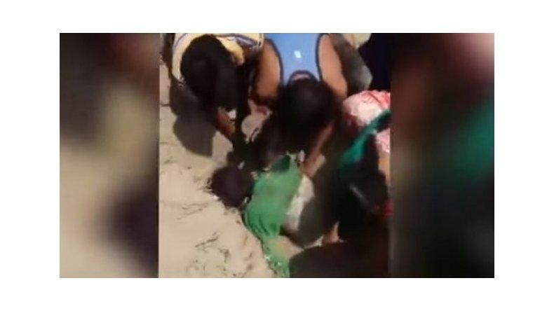 Rescataron a una joven que fue enterrada viva