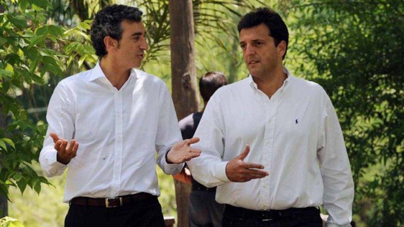 Otros tiempos en que Randazzo y Massa integraban el mismo espacio político.