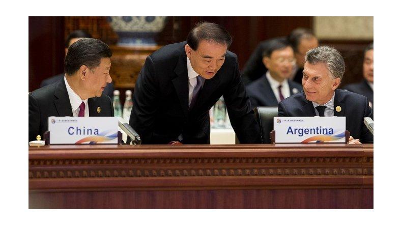 Macri participó de un foro de líderes mundiales en China