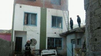 se incendio una vivienda en el barrio san martin