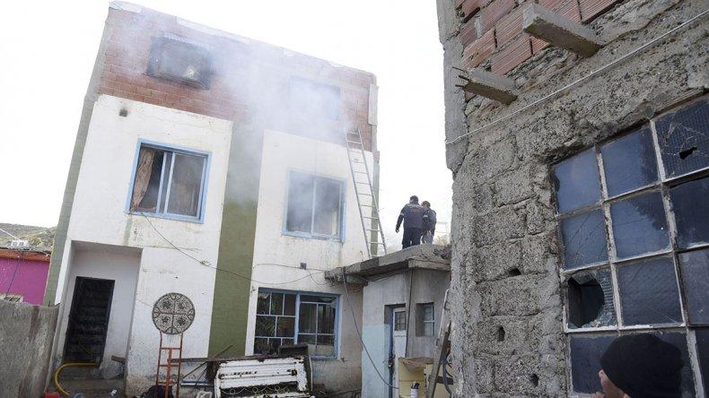 Ernesto Allende no descarta que el incendio haya sido intencional.