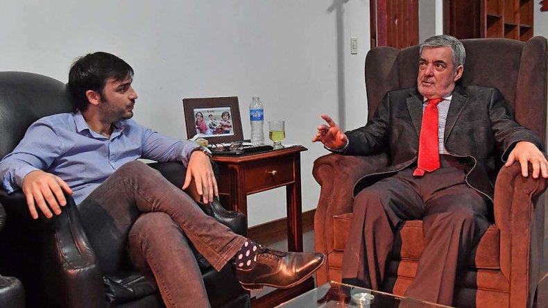 Das Neves recibió ayer al coordinador del ministerio de Interior de Nación