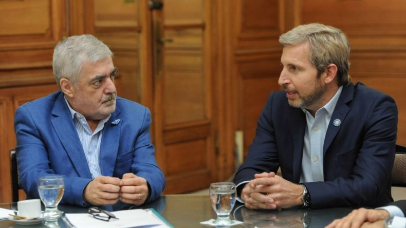 Das Neves se reúne con los ministros Frigerio y Dujovne