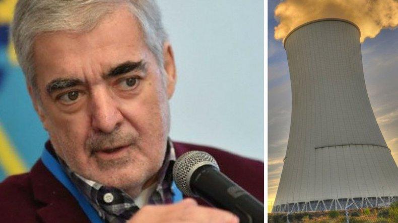 Das Neves contra la central nuclear: dejan un desastre ambiental