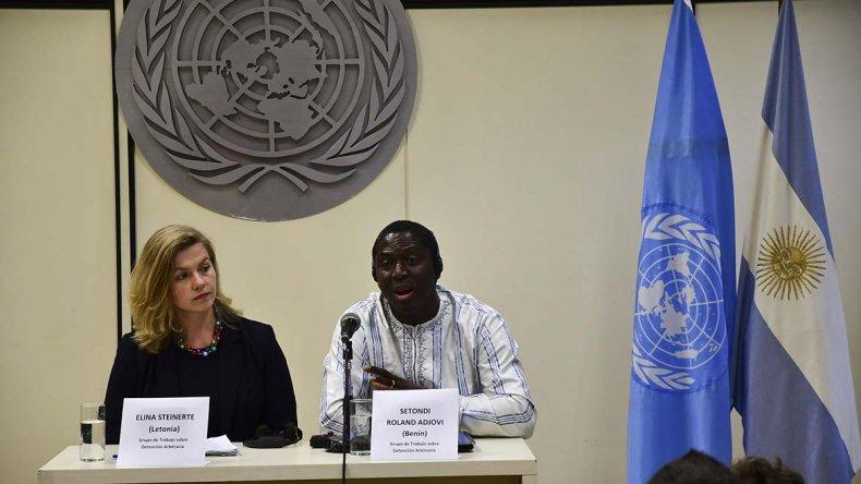 El grupo de trabajo de la ONU llamó la atención sobre el deterioro en los Derechos Humanos en el país.