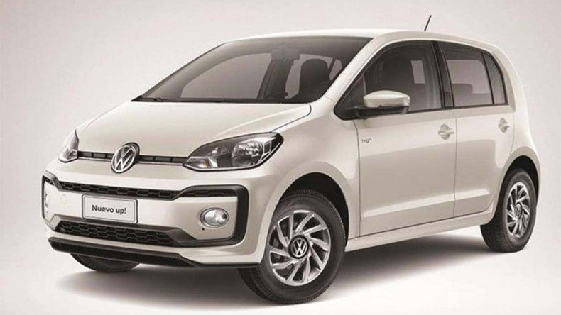 Lanzamiento: presentan el Volkswagen Up! 2018