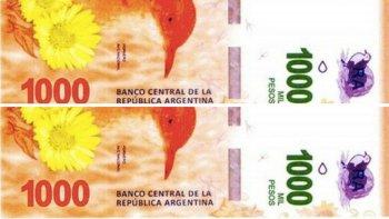 ¿apuran el lanzamiento del billete de $1000 por la inflacion?