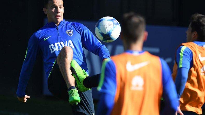 Leonardo Jara volverá esta tarde a la formación titular de Boca Juniors.