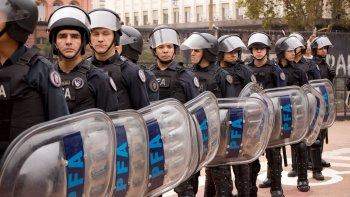 gestiones municipales  para el destacamento  de la policia federal