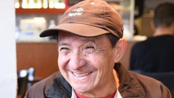 Juan Queipul, a sus 70 años, es un agradecido del atletismo.