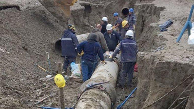 Tanto el sistema de acueductos como el sistema cloacal resultaron seriamente dañados por el temporal.