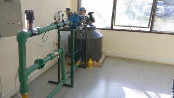 un proyecto para recuperar energia a traves de la red de agua
