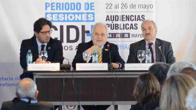 La Comisión Interamericana de Derechos Humanos sesiona en Buenos Aires.