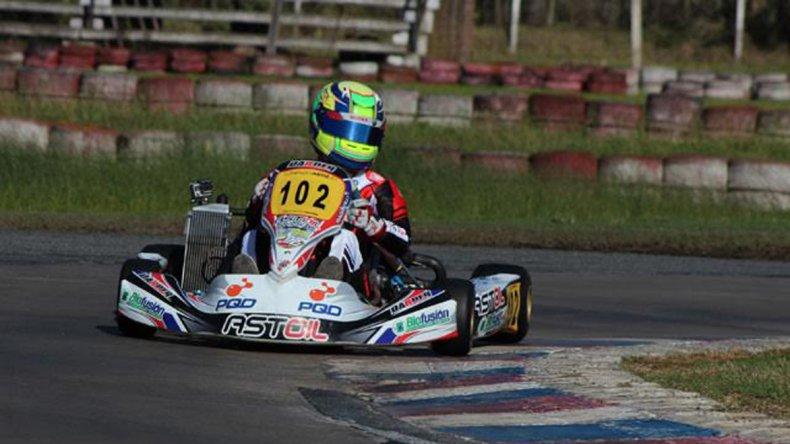 Lorenzo Astiz se reencontró con el podio y festejó en Buenos Aires.