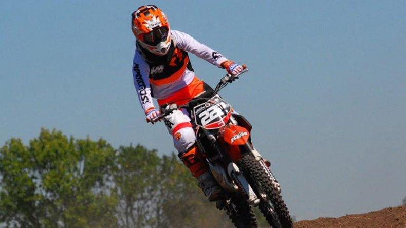 Tomás Brazao se adueñó de las dos mangas y lidera el campeonato del MX del Norte.