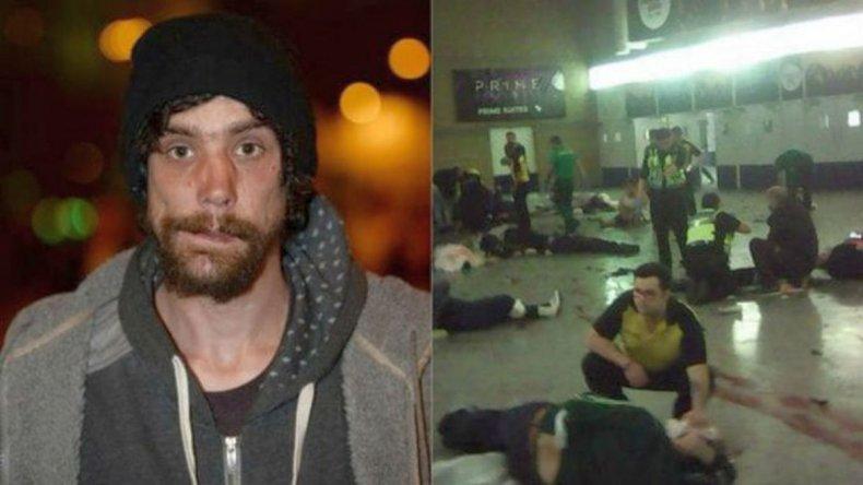 Indigente salvó a personas en el atentado de Manchester
