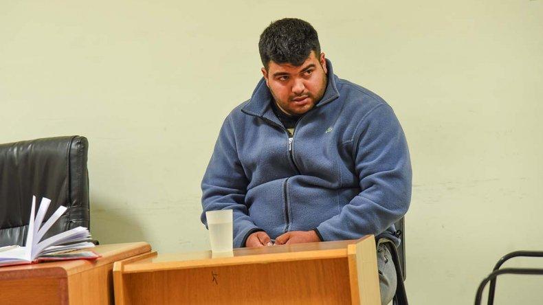 Diego Aguirre fue el primer detenido por el crimen. Actualmente permanece en el sector de Psiquiatría del Hospital Regional.