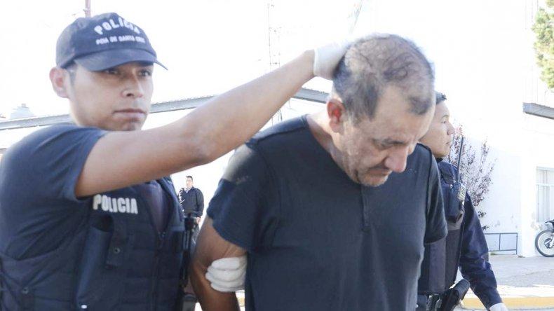 Elías Miranda Barrera en una de sus tantas caídas por delitos contra la propiedad.