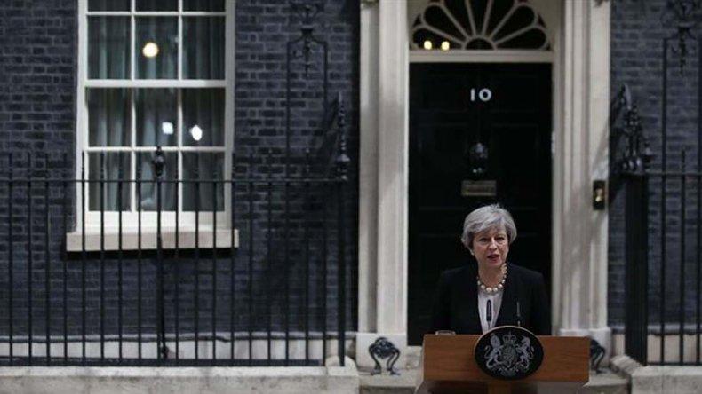 La primera ministra británica
