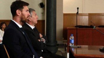 messi fue condenado a 21 meses de prision por evasion fiscal
