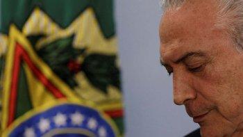 Temer intenta separar las cuentas de campaña para adjudicarle supuestos delitos electorales a Rousseff.