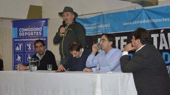 Autoridades municipales presidieron el acto realizado en el Complejo Huergo.