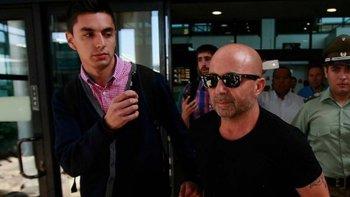 Jorge Sampaoli, el futuro entrenador de la selección argentina de fútbol, ya se encuentra en el país.