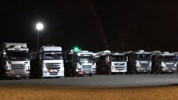 desde playa de tanques, camioneros advierte con endurecer medidas