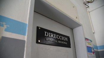 le aceptaron la renuncia al director del hospital regional
