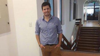 Santiago Melo, actual entrenador de la Primera de Portugués que vive un presente alentador.