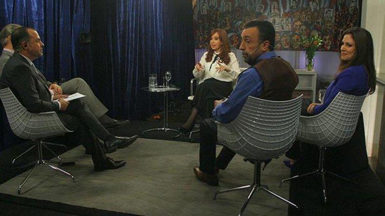 La entrevista exclusiva que Cristina Fernández de Kirchner brindó el jueves por la noche a C5N.