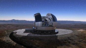 comienza la construccion del mayor telescopio del mundo